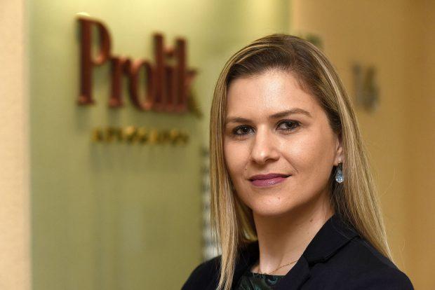 Janaina Baggio é advogada tributária de Prolik Advogados